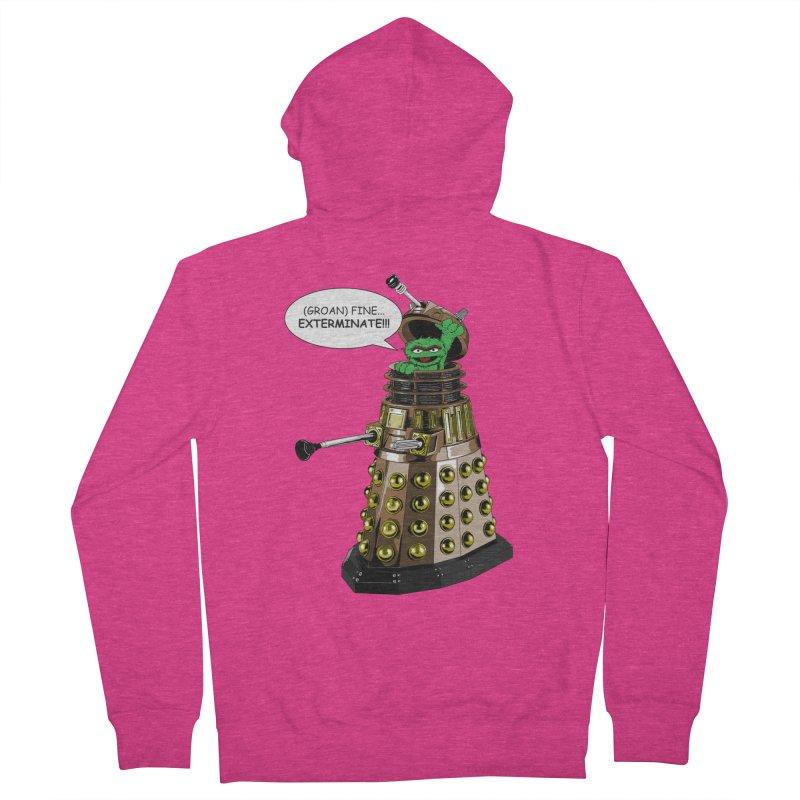 Oscar the Dalek Women's Zip-Up Hoody by zhephskyre's Artist Shop