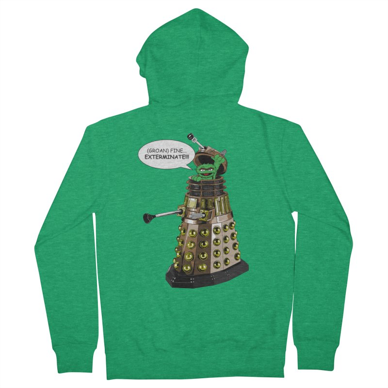 Oscar the Dalek Men's Zip-Up Hoody by zhephskyre's Artist Shop