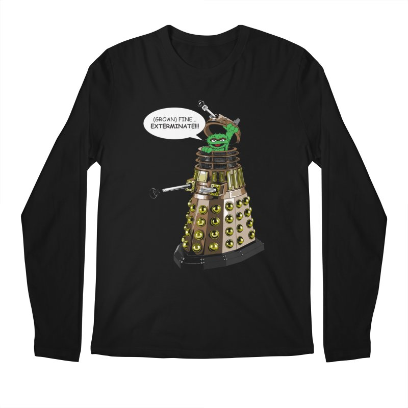 Oscar the Dalek Men's Longsleeve T-Shirt by zhephskyre's Artist Shop