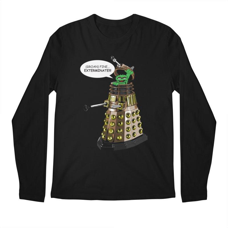 Oscar the Dalek Men's Regular Longsleeve T-Shirt by Zheph Skyre