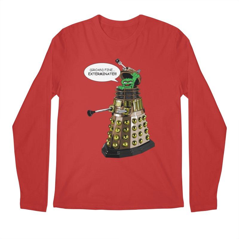 Oscar the Dalek Men's Longsleeve T-Shirt by zhephskyre's Artist Shop