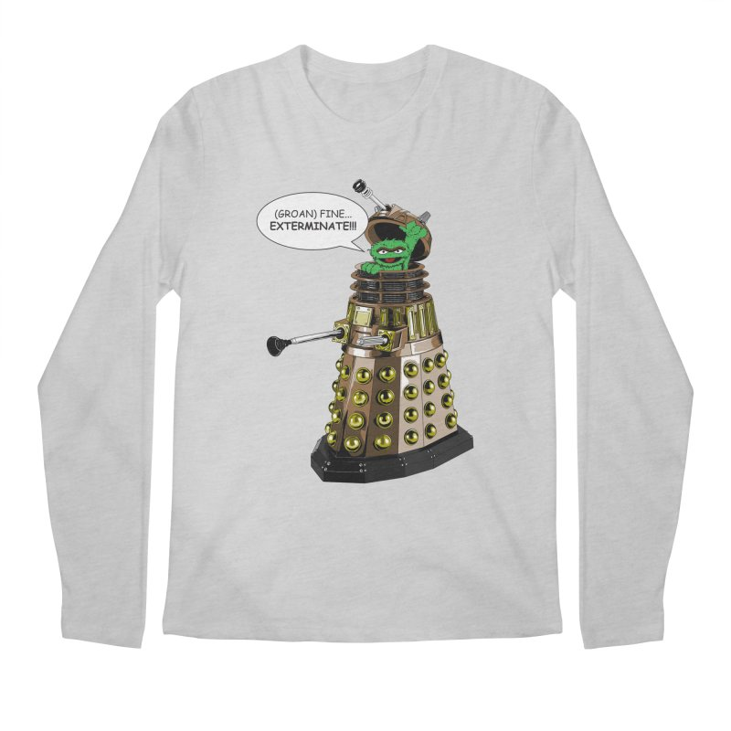 Oscar the Dalek Men's Regular Longsleeve T-Shirt by Zheph Skyre