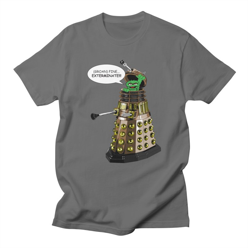 Oscar the Dalek Men's T-Shirt by Zheph Skyre