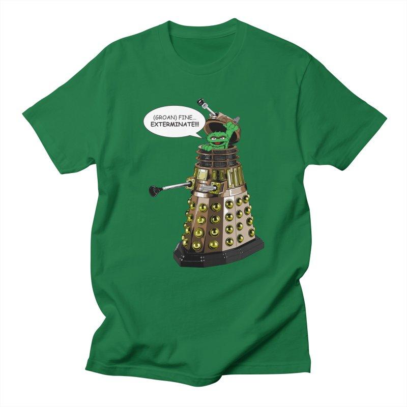 Oscar the Dalek Men's T-shirt by zhephskyre's Artist Shop