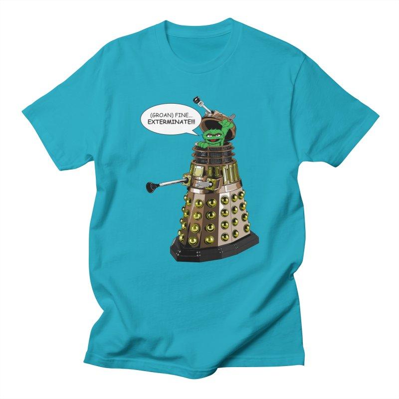 Oscar the Dalek Men's Regular T-Shirt by Zheph Skyre