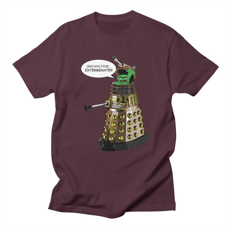 Oscar the Dalek Men's T-Shirt by zhephskyre's Artist Shop