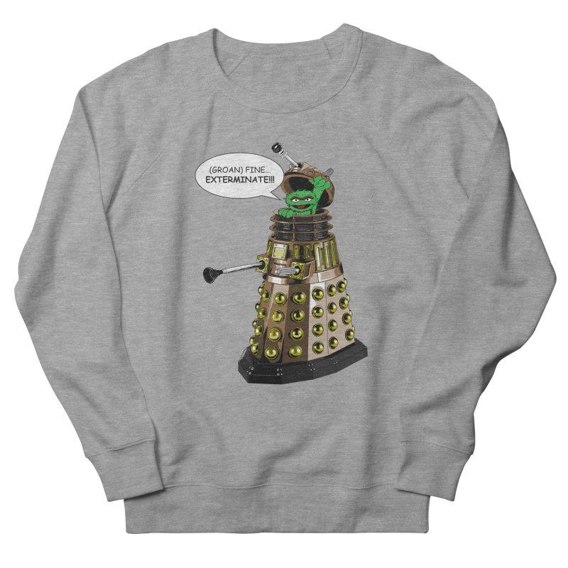 Oscar the Dalek Women's French Terry Sweatshirt by Zheph Skyre