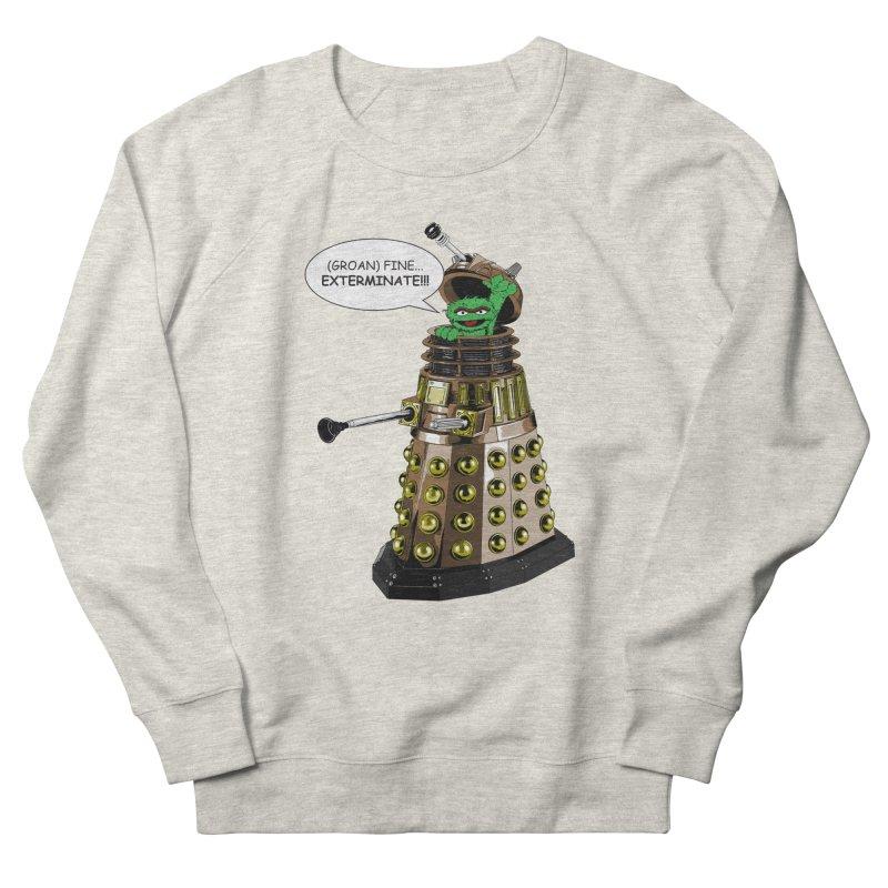 Oscar the Dalek Women's French Terry Sweatshirt by zhephskyre's Artist Shop