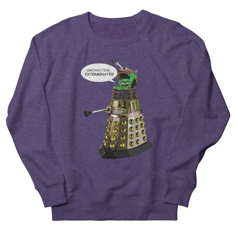 Oscar the Dalek Men's French Terry Sweatshirt by zhephskyre's Artist Shop