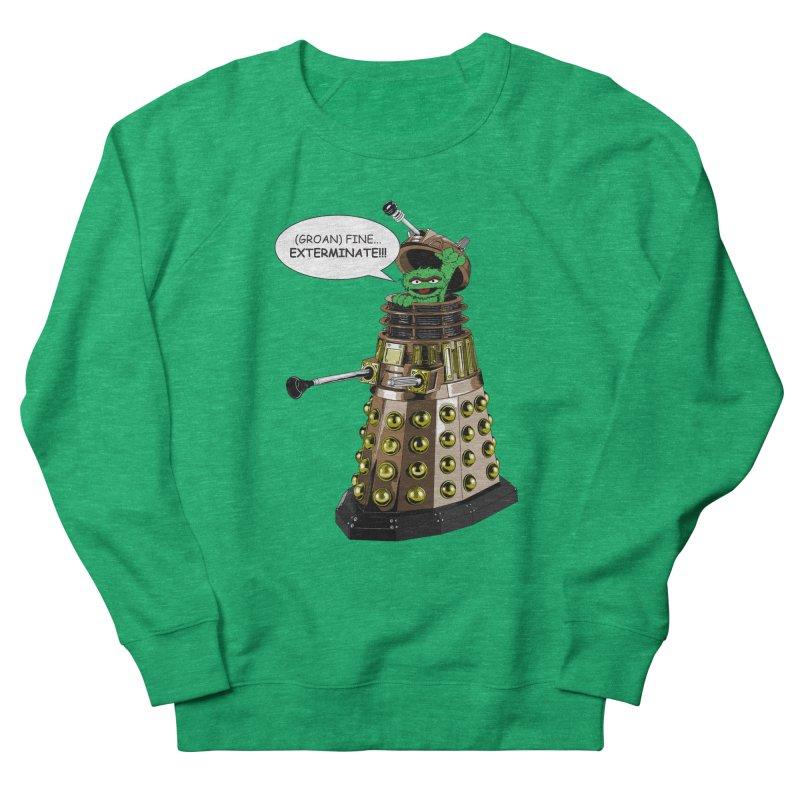 Oscar the Dalek Men's French Terry Sweatshirt by Zheph Skyre