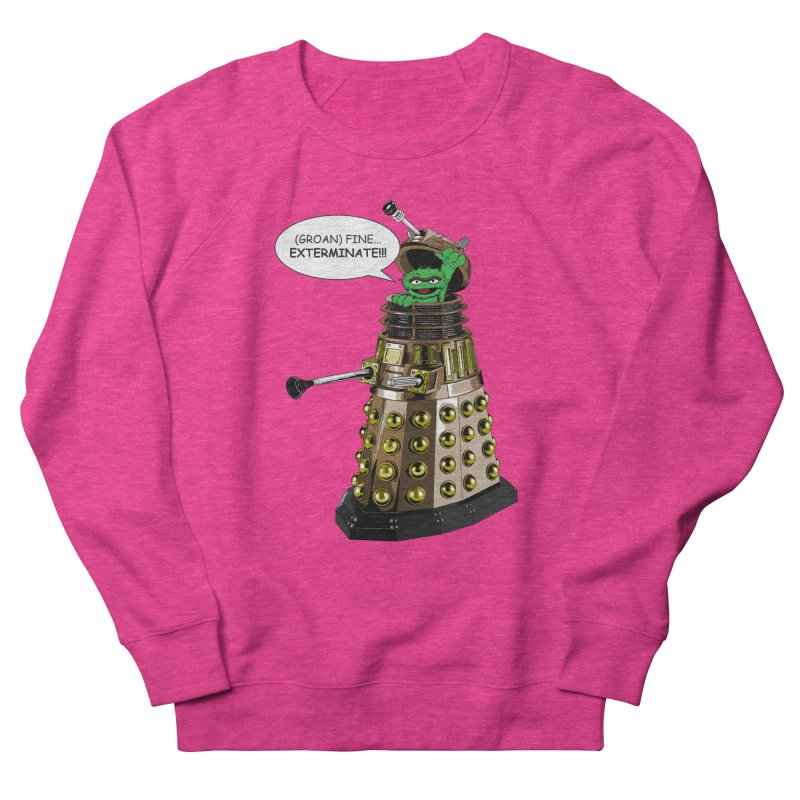 Oscar the Dalek Men's Sweatshirt by zhephskyre's Artist Shop