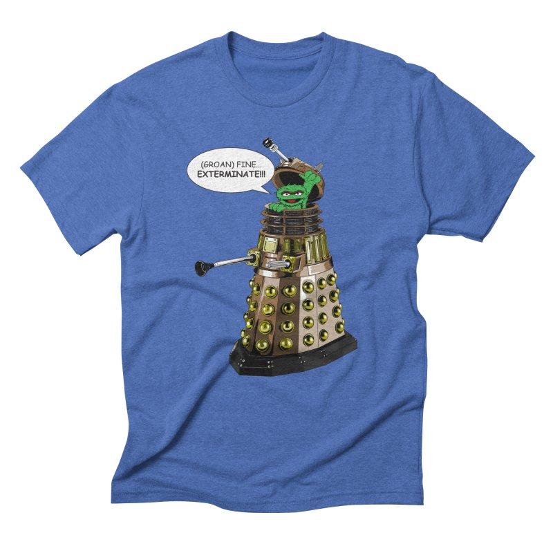 Oscar the Dalek Men's Triblend T-Shirt by zhephskyre's Artist Shop