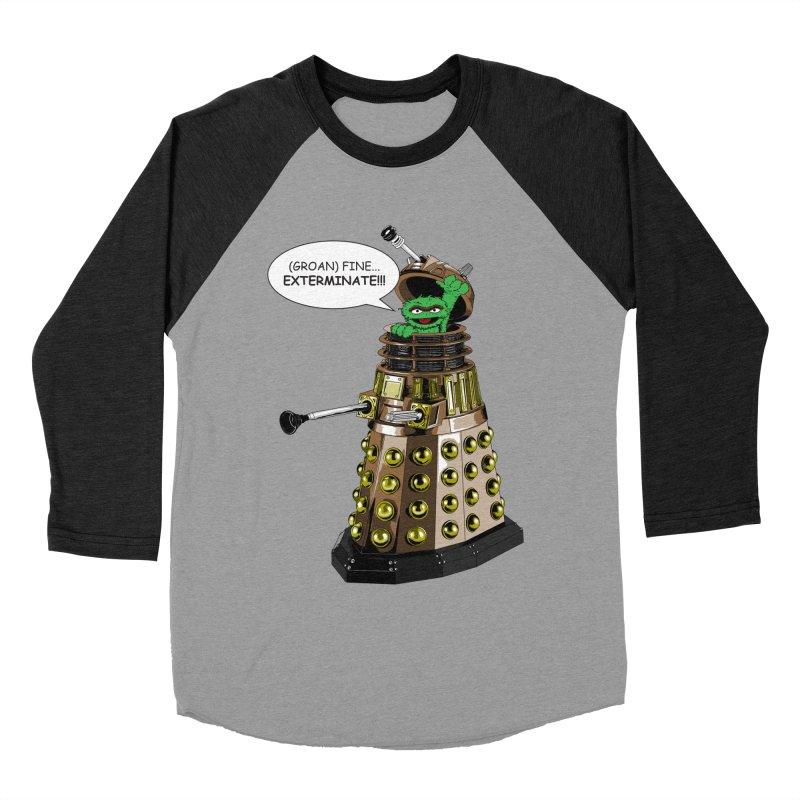 Oscar the Dalek Women's Baseball Triblend T-Shirt by zhephskyre's Artist Shop