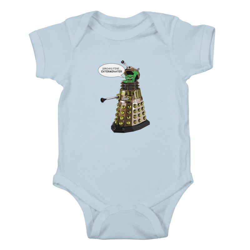 Oscar the Dalek Kids Baby Bodysuit by zhephskyre's Artist Shop
