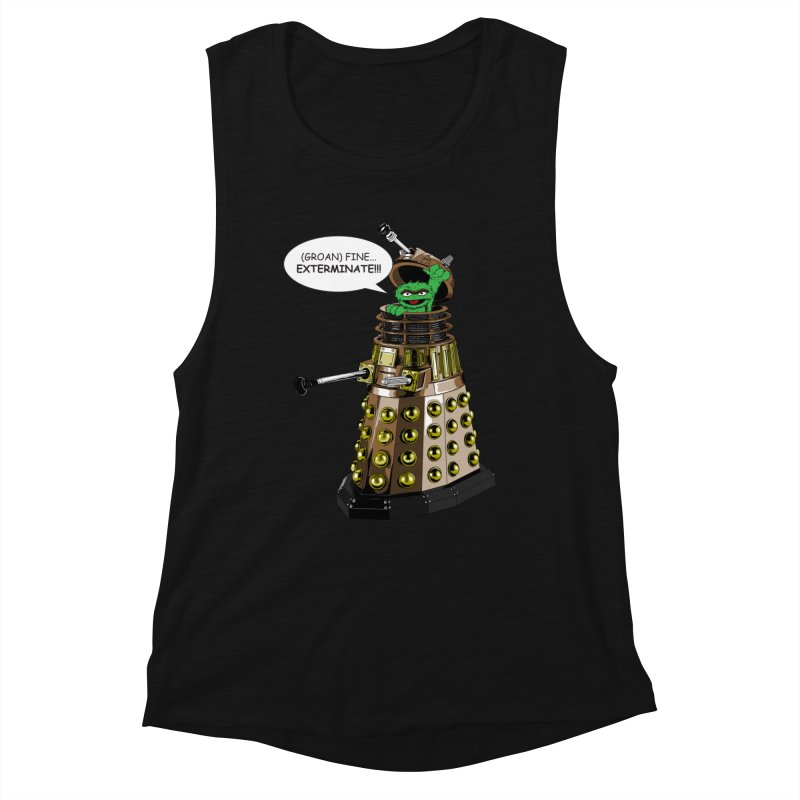 Oscar the Dalek Women's Tank by Zheph Skyre