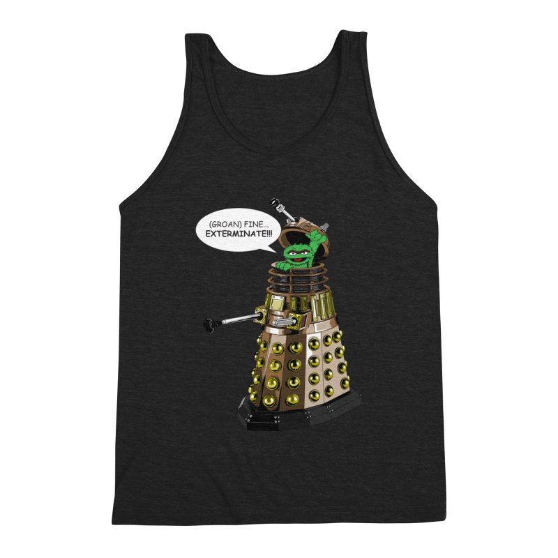 Oscar the Dalek Men's Tank by Zheph Skyre