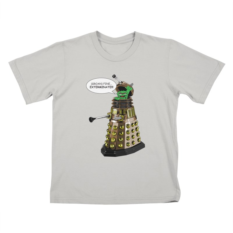 Oscar the Dalek Kids T-Shirt by zhephskyre's Artist Shop