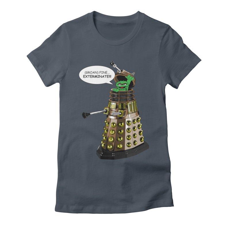 Oscar the Dalek Women's T-Shirt by Zheph Skyre