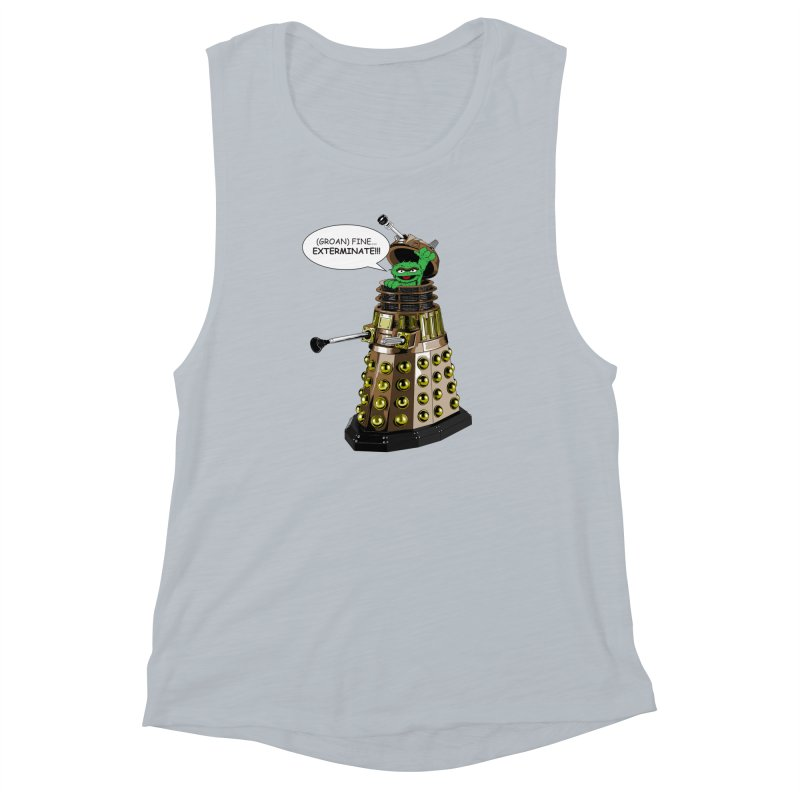 Oscar the Dalek Women's Muscle Tank by zhephskyre's Artist Shop
