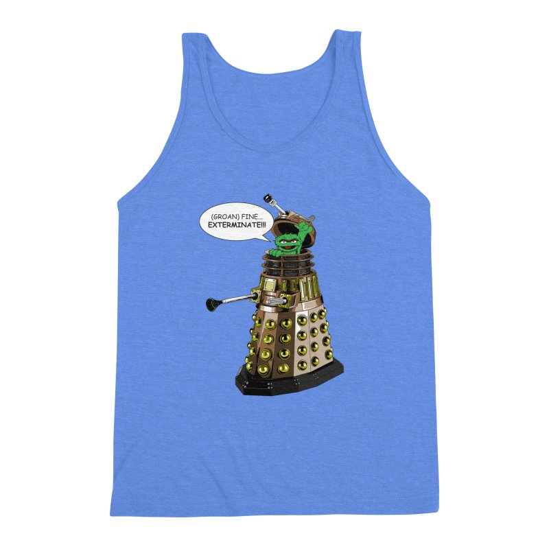Oscar the Dalek Men's Triblend Tank by zhephskyre's Artist Shop