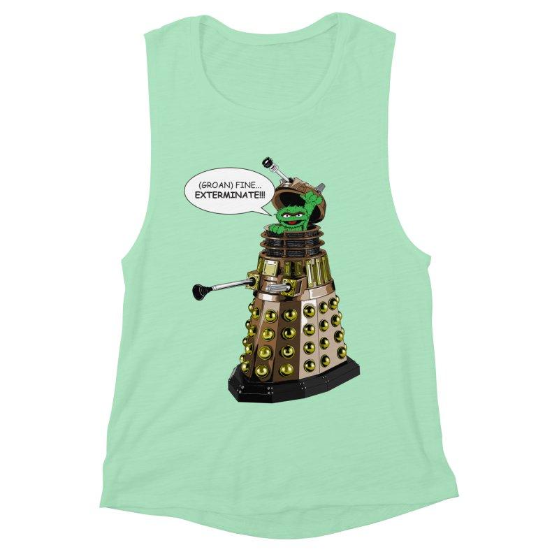 Oscar the Dalek Women's Muscle Tank by Zheph Skyre