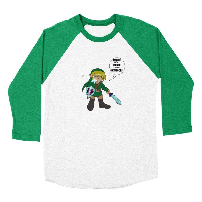 Link's Fantasy Women's Baseball Triblend Longsleeve T-Shirt by Zheph Skyre
