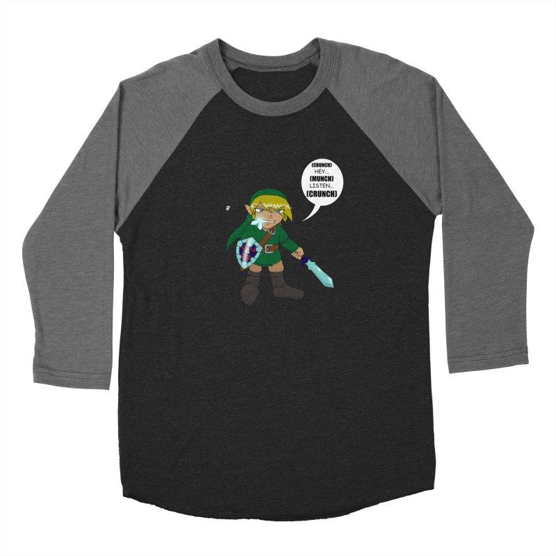 Link's Fantasy Men's Baseball Triblend Longsleeve T-Shirt by Zheph Skyre