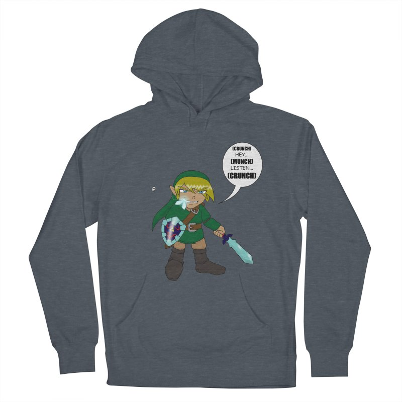 Link's Fantasy Men's French Terry Pullover Hoody by zhephskyre's Artist Shop