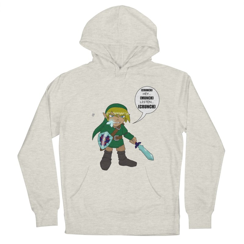 Link's Fantasy Men's French Terry Pullover Hoody by Zheph Skyre