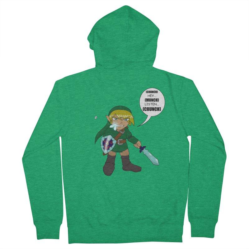Link's Fantasy Women's Zip-Up Hoody by Zheph Skyre