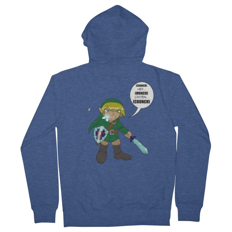 Link's Fantasy Women's French Terry Zip-Up Hoody by Zheph Skyre
