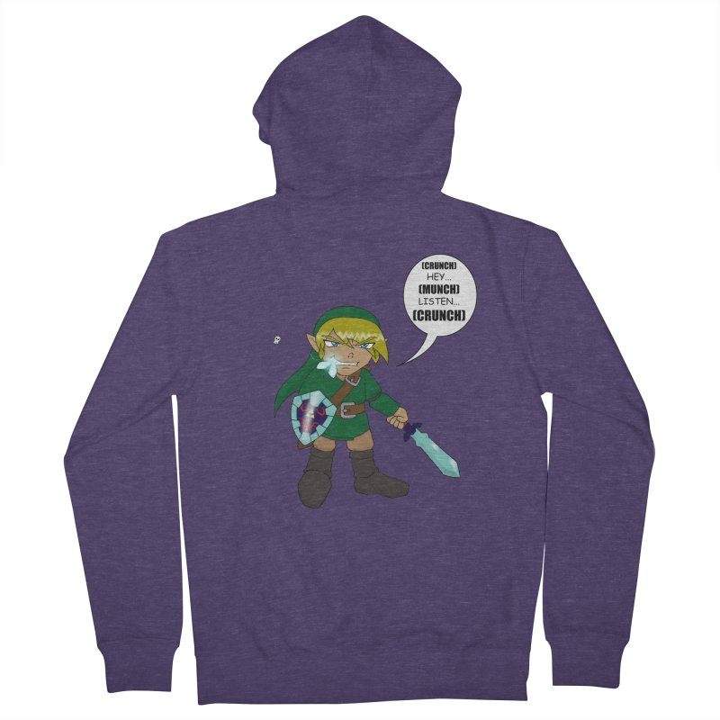 Link's Fantasy Men's Zip-Up Hoody by zhephskyre's Artist Shop