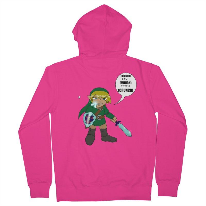 Link's Fantasy Men's Zip-Up Hoody by zhephskyre's Artist Shop