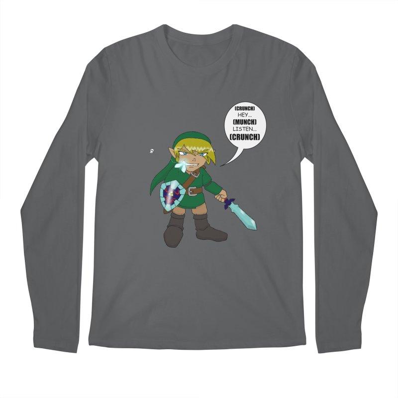 Link's Fantasy Men's Regular Longsleeve T-Shirt by zhephskyre's Artist Shop