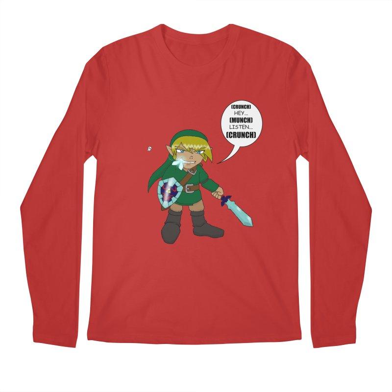 Link's Fantasy Men's Longsleeve T-Shirt by zhephskyre's Artist Shop