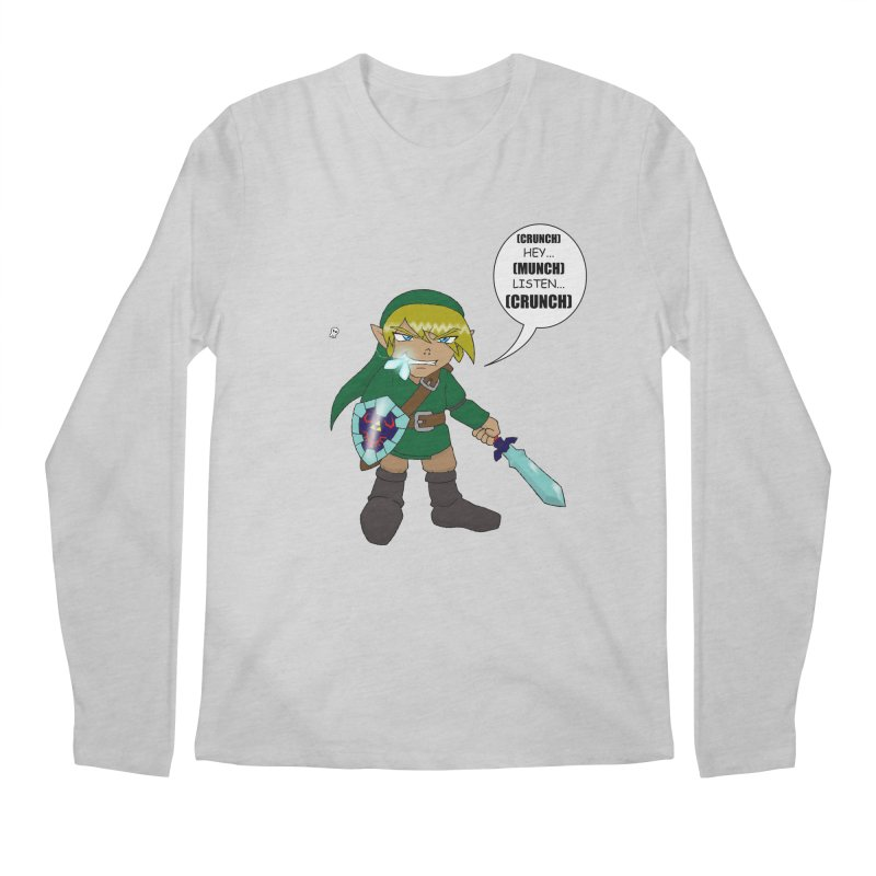 Link's Fantasy Men's Longsleeve T-Shirt by zhephskyre's Artist Shop
