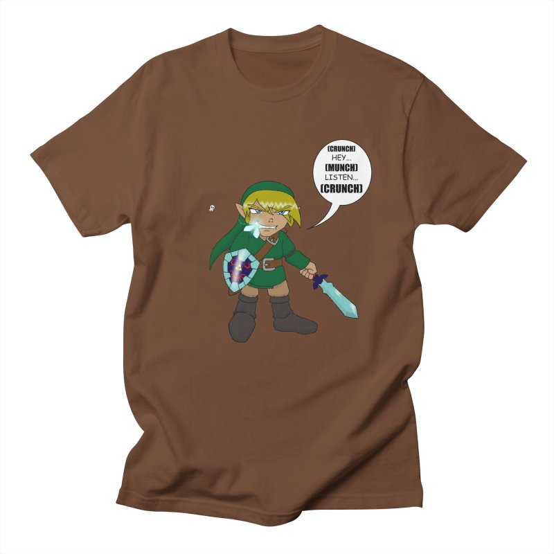 Link's Fantasy Men's T-Shirt by zhephskyre's Artist Shop