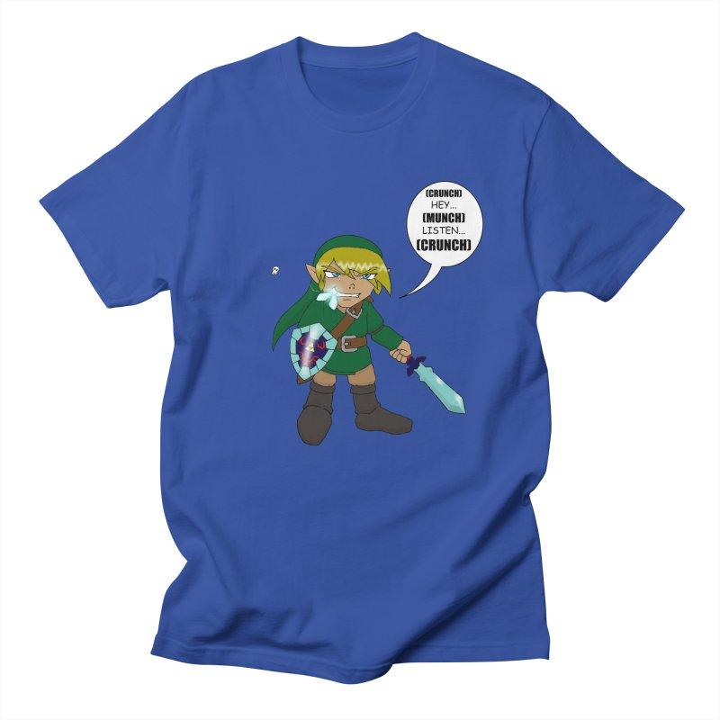 Link's Fantasy Men's Regular T-Shirt by Zheph Skyre