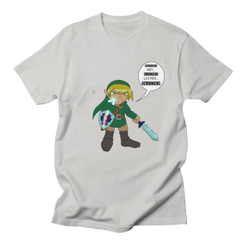 Link's Fantasy Men's T-shirt by zhephskyre's Artist Shop
