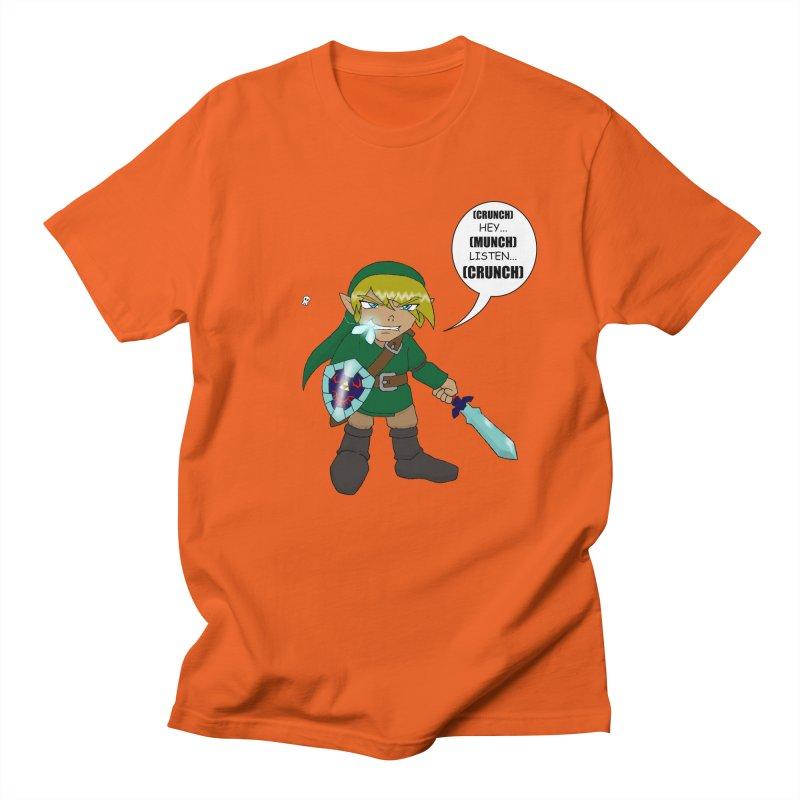 Link's Fantasy Men's Regular T-Shirt by zhephskyre's Artist Shop