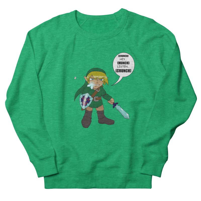 Link's Fantasy Women's French Terry Sweatshirt by Zheph Skyre