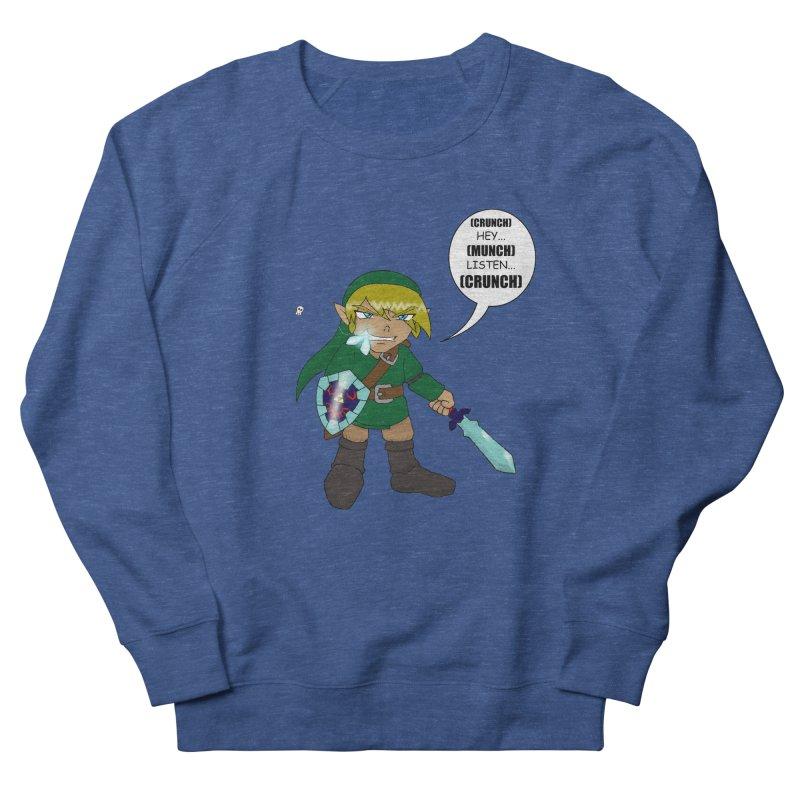 Link's Fantasy Women's French Terry Sweatshirt by zhephskyre's Artist Shop