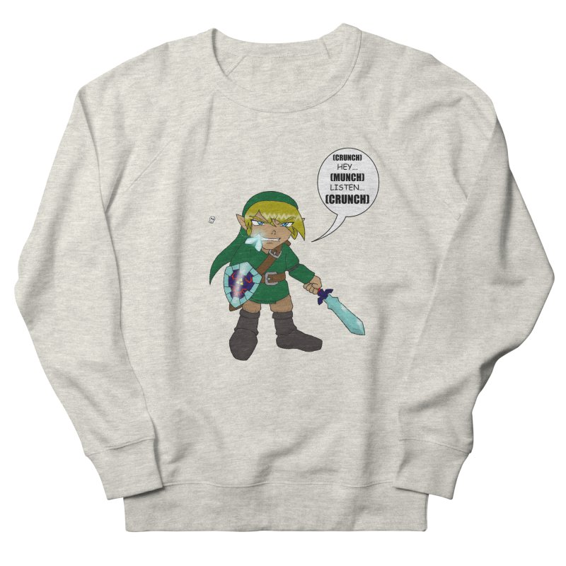 Link's Fantasy Women's Sweatshirt by zhephskyre's Artist Shop