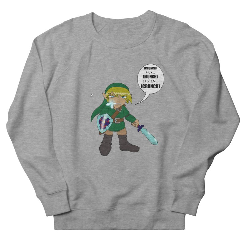 Link's Fantasy Men's French Terry Sweatshirt by zhephskyre's Artist Shop