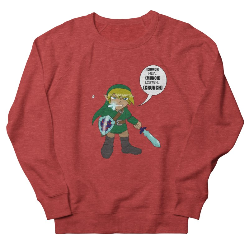 Link's Fantasy Men's Sweatshirt by zhephskyre's Artist Shop