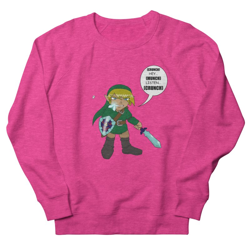 Link's Fantasy Men's French Terry Sweatshirt by Zheph Skyre