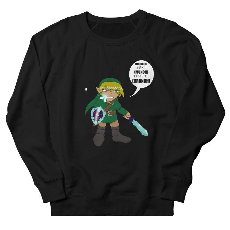 Link's Fantasy Men's French Terry Sweatshirt by zhephskyre's Artist Shop