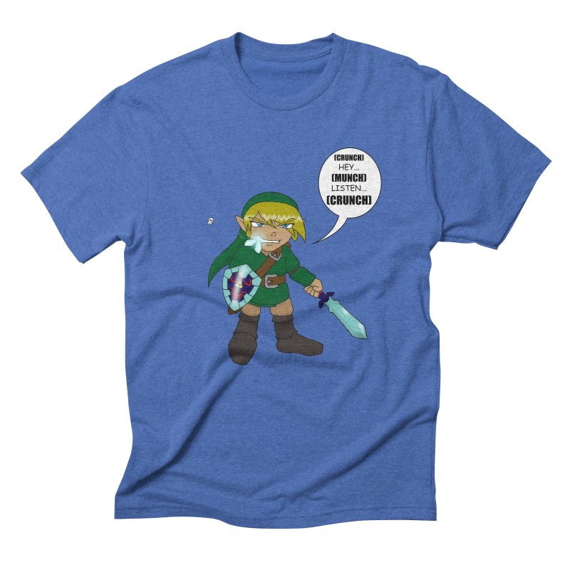 Link's Fantasy Men's Triblend T-Shirt by Zheph Skyre