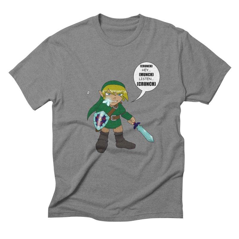 Link's Fantasy Men's Triblend T-Shirt by Zheph Skyre