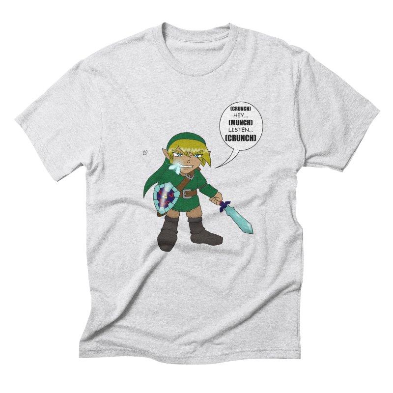 Link's Fantasy Men's Triblend T-Shirt by zhephskyre's Artist Shop